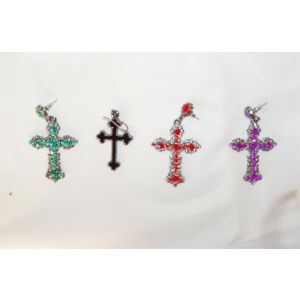 80s Cross Earrings (Madonna)