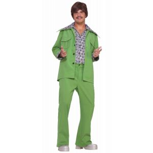 70's Fashion Suit Green