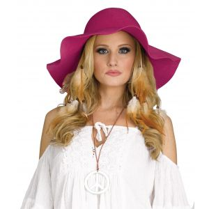 Floppy Hat Burgundy