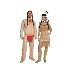 Western Authentic Indian Dress Couple
